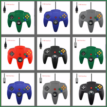 Wired USB Controller For Nintendo N64 Game Wired Gamepad Joypad Joystick For Gamecube For N64 64 PC Black For Mac Game Accessory(China)