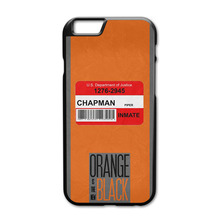 Orange Is The New Black Case for iPhone 4 4S 5 5S 5C 6 6S Plus Touch 5 Samsung A3 A5 A7 E5 E7 S3 S4 S5 Mini S6 Edge Note 2 3 4 5