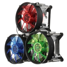 LED CPU Cooler Fan Heatsink Radiator For Intel LGA 1150/1151/1155/1156 Series High Quality Computer Cooler Cooling Fan For CPU