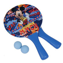 For Kids Adults Backyard Garden Toys Game Beach Ball Paddles Rackets Wooden Tennis Badminton Racquet(China)