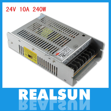 Universal 24V 10A 240W Switch Power Supply Driver Switching For LED Strip Light Display 110V 220V(China)