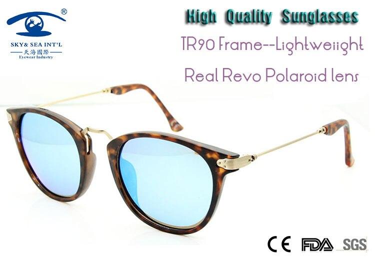 2015 New Summer Style Women Polaroid Lens Retro Vintage Round Points Sun Glasses High Quality Polarized Real Revo Sunglasses<br><br>Aliexpress