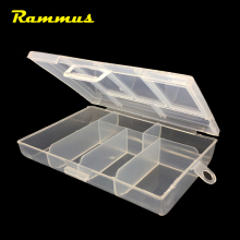 1pcs 6 Grid Slots Portable Transparent Plastic Tool Box Case Container For DIY Electronic Screw Jewelry Earring Art Storage