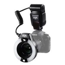 Viltrox JY-670C Macro E-TTL Ring Flash Light Speedlite  for Canon DSLR Camera Oral Cavity Teeth Ornaments Close-up Shooting