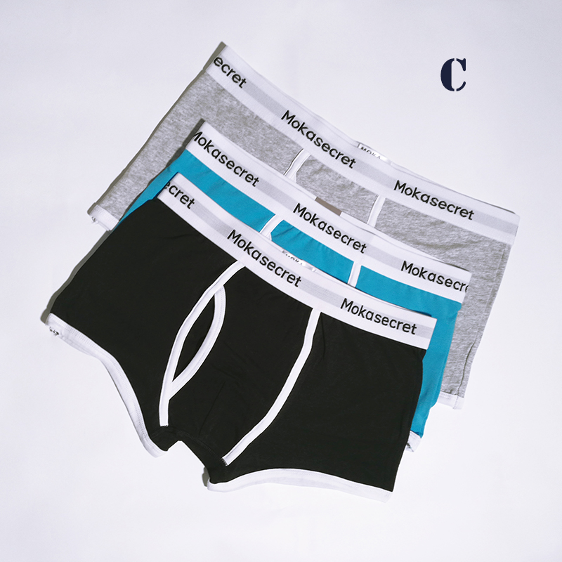 Brands Men Underwear Cotton Boxers 3pcslot Male Panties Boxer Shorts Calvin Calzoncillos Hombre Cueca Underpants Boxers Trunks08