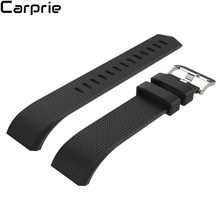 Best price 11 colors Superior Quality New Fashion Sports Silicone Bracelet Band For Fitbit Charge 2 Strap drop Shipping 2FEB28(China)