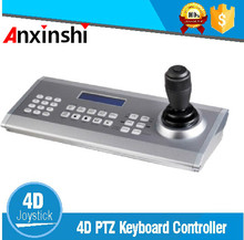 High Quality USB AHD /TVI /CVI PTZ Keyboard Controller 4D Joystick Remote Control Security Speed Dome Camera Keyboard Controller