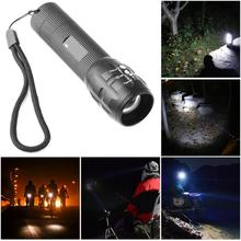 Buy T6 Outdoor Camping Hiking LED Torch Zoomable Mini Flashlight Survival Tool SOS 18650 Rechargeable battery for $3.93 in AliExpress store