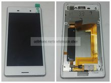 For Sony Xperia M4 E2333 Dual SIm Display Lcd screen with Touch Glass DIgitizer +Frame assembly Replacement