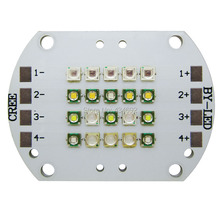4 Channel 20LEDS Cree + Epileds Led Emitter Lamp Light DIY Custom Plant Grow Fish Tank Led Lamp Light
