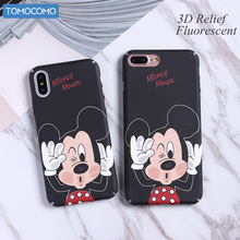 TOMOCOMO Funny Minnie Mickey Cartoon Hard PC Case For iPhone 6 6Plus 7 7P 8 8Plus X Characters Back Cover Skin Coque Capa(China)