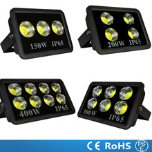 Ultra Bright LED Floodlights 150W 200W 300W 400W RGB LED Flood Light cob led lamp IP66 Waterproof LED Flood Lighting AC85-265V(China)