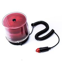 FUGSAME 12V AMBER BEACON WARNING red LIGHT CAUTION REVOLVING CAR ROOF trouble lamp emmergency lighting multi-function indicator(China)