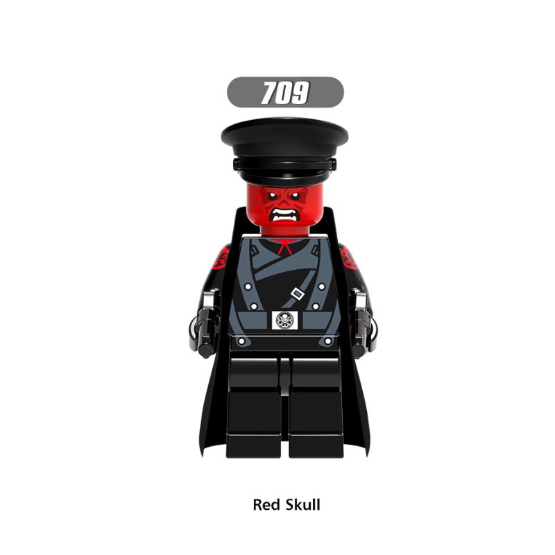 XH709-Red skull