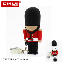 Buy USB Flash drive OTG Pen Drive Cartoon Soldier U Disk 8/16/32GB Double Plug USB2.0 Pendrive Memory Stick Android Smartphone for $8.99 in AliExpress store