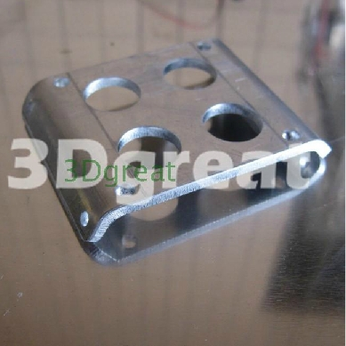 3 D printer accessory  Ultimaker Heat insulation aluminum plate Fan mounting bracket top quality free shipping<br><br>Aliexpress