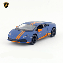 KINSMART Die Cast Metal Model/1:36 Scale/Huracan LP 610-4 Avio Matte toy/Pull Back Car for children's gift or collection/Gift