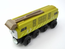 Wooden Thomas Train T040W DIESEL 10 Thomas And Friends Trackmaster Magnetic Tomas Truck Locomotive Engine Railway Toys for Boys(China)