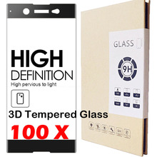 Buy 100pcs 0.3mm 3D Curved Tempered Glass Saver Film 9H Anti-explosion LCD Toughened Screen Protector Sony Xperia XA Ultra XZ XP for $196.35 in AliExpress store