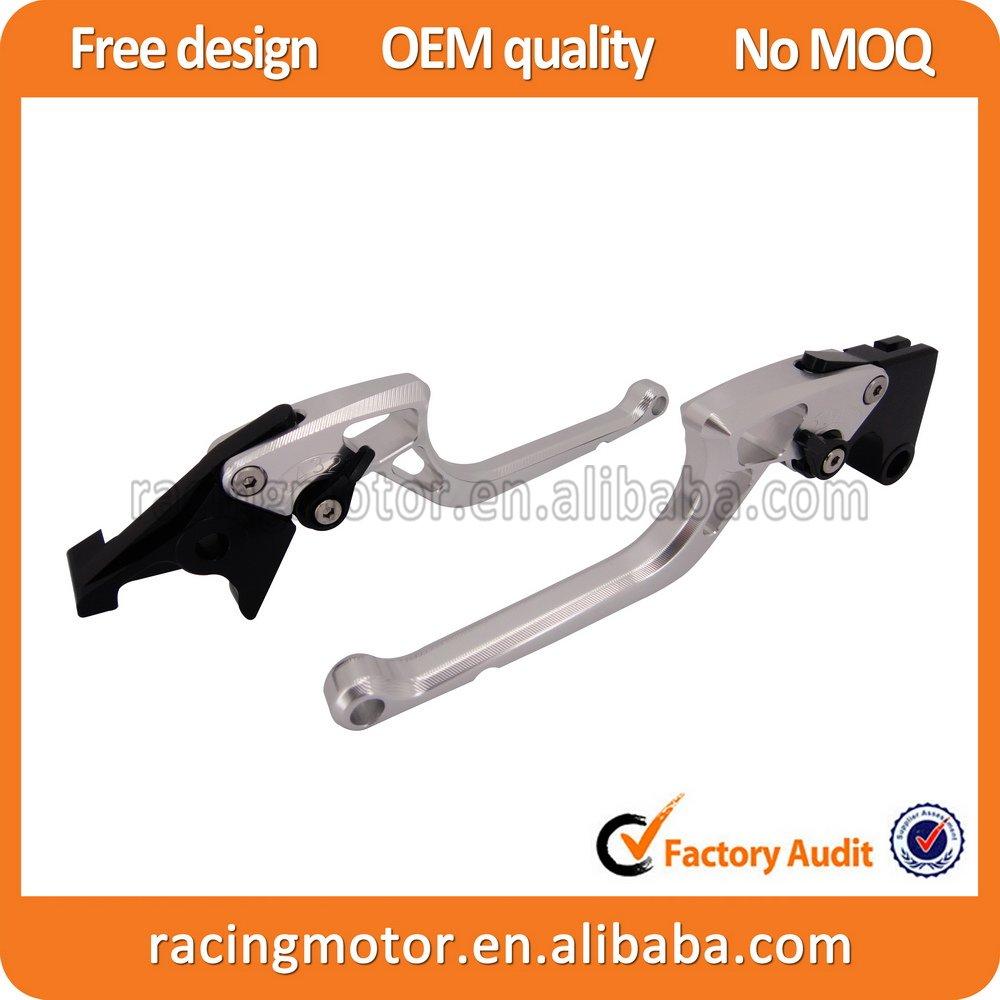 For KTM 990 SuperDuke 2005-2013 Ergonomic Designed New CNC Adjustable Right-angled 170mm Brake Clutch Lever<br>