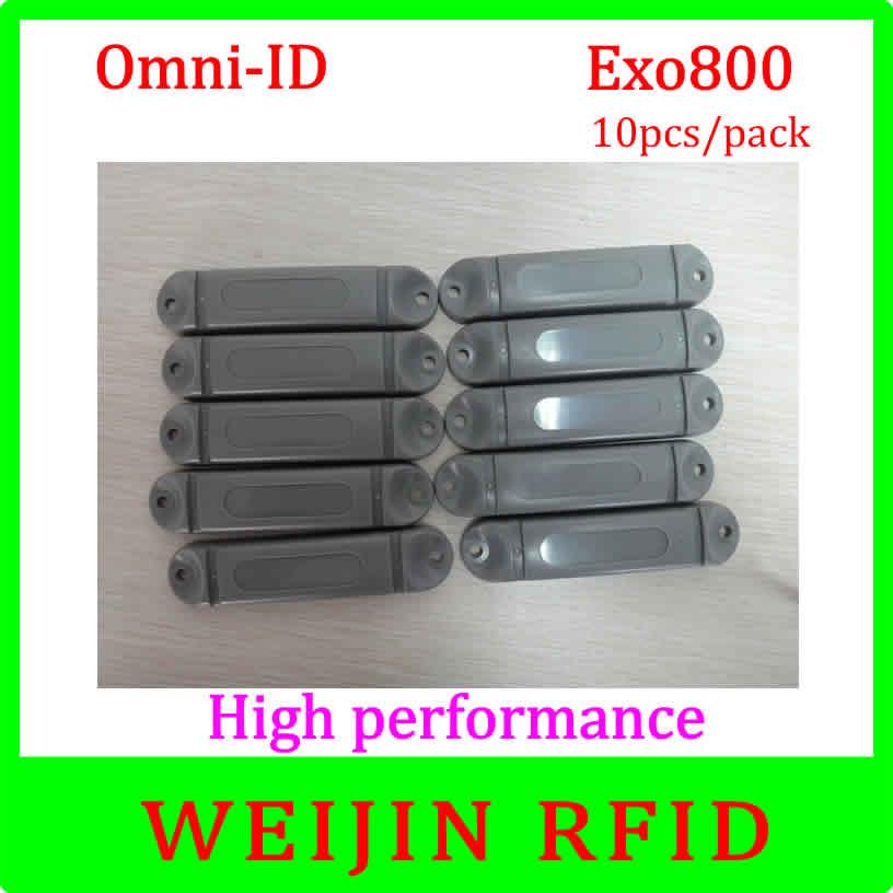 Omni-ID Exo 800 10pcs per pack UHF RFID anti metal tag 915M EPC C1G2 ISO18000-6C  free shipping<br><br>Aliexpress