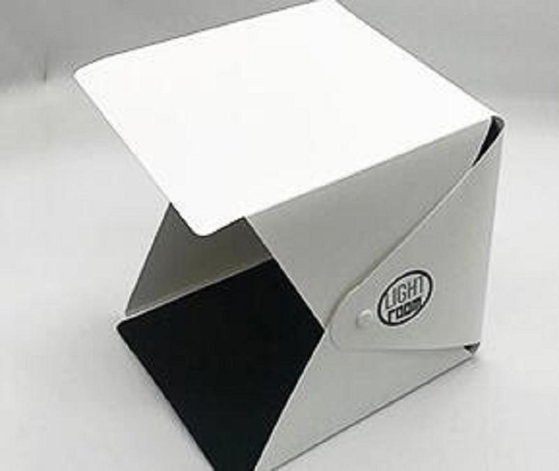 9.6 x 9.3 Portable Photo Studio-Photo Studio Box for Jewellery and Small Items Portable Folding Photography Studio Box Booth Shooting Tent Kit