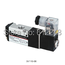 3V110-06 3/2way lead wire type Pneumatic directional Valves 1/8''(China)