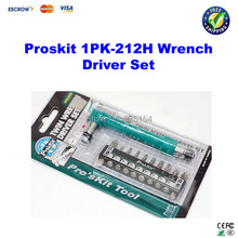 Proskit 1PK-212H Twin Wrench Driver Set, Driver Kit, Screwdriver Set