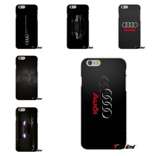 Awesome Buy For Audi Car RS Logo Silicon Soft Phone Case For Huawei G7 G8 P8 P9 Lite Honor 5X 5C 6X Mate 7 8 9 Y3 Y5 Y6 II(China)