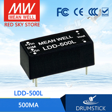 Advantages MEAN WELL LDD-500L 2 ~ 32VDC 500mA meanwell LDD-500 DC-DC LED driver pin tyle