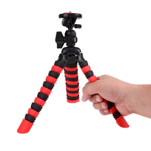 1/4 Screw Mount Tripod Octopus Mini Table Tops Tripods Camera Stand Stabilizer Support Holder Bracket with Ball Head Lock System(China)