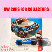 New Arrivals 2017 Hot Wheels 1:64 Ford Off-Duty Metal Diecast Cars Collection Kids Toys Vehicle For Children Juguetes(China)
