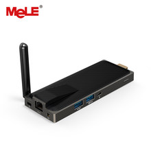 Безвентиляторный мини-компьютер Stick Mini PC 4 ГБ 32 ГБ MeLE PCG02 Apo 4 ядра Intel Celeron N3450 Windows 10 HDMI 4 К локальной сети Wi-Fi(China)