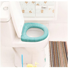 High Quality   Bathroom soft Toilet Seat Closestool Washable Soft Warmer Mat Cover Pad Cushion cushion toilet seat