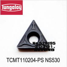 TCMT110204-PS NS530/NS9530/T9015/T9025/T9119/T9125,original tungaloy carbide insert TCMT 110204  use for steel
