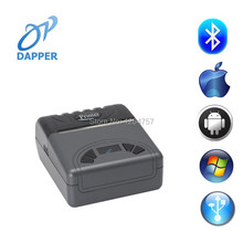 3inch micro mobile phone portable bluetooth(android&ios sticker thermal label printer
