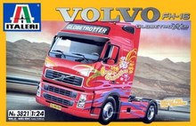 Out of print! ITALERI 3821 - 1/24 TRUCK / LKW - VOLVO FH16 GLOBETROTTER XL