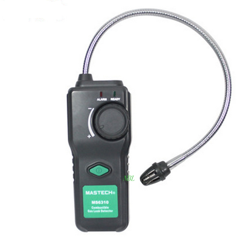 Professional Combustible Flammable Gas Detector Natural Gas Leak Propane Analyzer &amp; Sound Light Alarm Brand MASTECH MS6310<br><br>Aliexpress