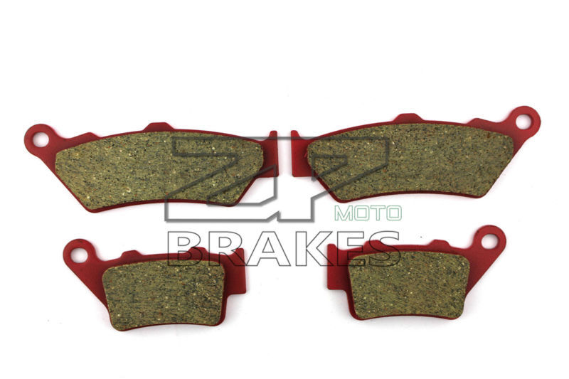 Motorcycle Brake Pads For YAMAHA XT 660 R 2004-2014 F+R New Ceramic Composite High Quality ZPMOTO<br>