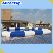 Commercial Quality Big Inflatable Pool, 8m by 8m Inflatable Water Pool for Rental Business