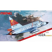 OHS Meng DS003 1/72 F102A Delta Dagger Case X Assembly Airforce Model Building Kits
