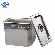 AC 220V 700mL 35W/50W Ultrasonic Cleaner High Quality Stainless Steel Ultrasonic Cleaner 43-45KHz With EU Plug