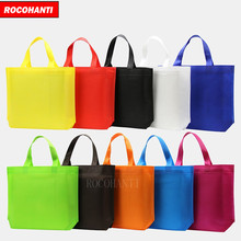 5x Wholesale Cotton Shopping Bag Foldable Reusable Grocery Bags Convenient Totes Bag Shopping Cotton Tote Bag Mixed Colors