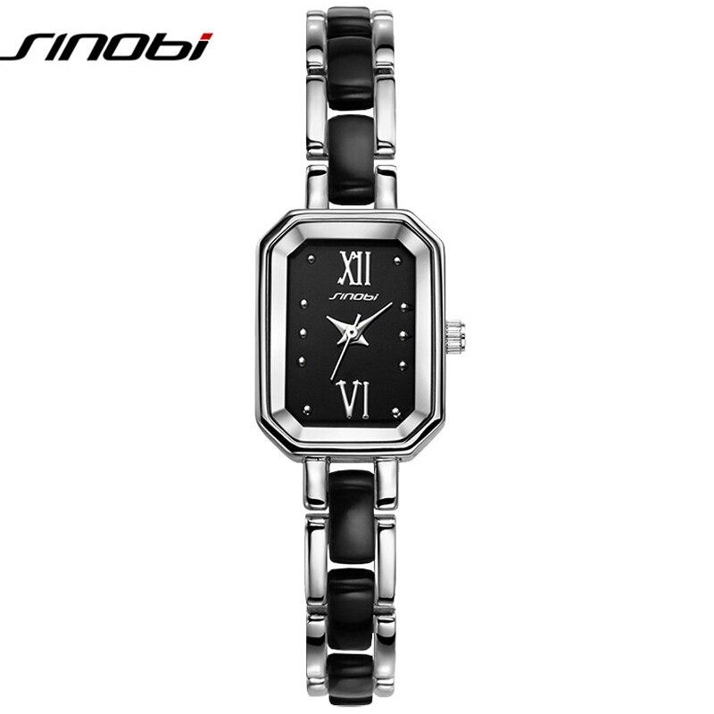 SINOBI Girls Fashion Bracelet Watch Top Luxury Brand Women Wrist Watches Female Geneva Quartz Clock Ladies Pulsera Relojes 2016<br><br>Aliexpress