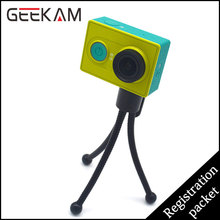 GEEKAM Go Pro Mini Tripod Stand Flexible Leg Small Camera Holder Grip For Octopus Bubble Pod Monopod HD Hero 3 Accessories