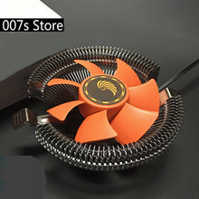 New Radiator PC CPU Cooler Cooling Fan Heatsink For Intel LGA 775 1155 Core 2 Duo/Celeron For AMD AM2 AM3 754 DC 12V 45W 3pin(China)