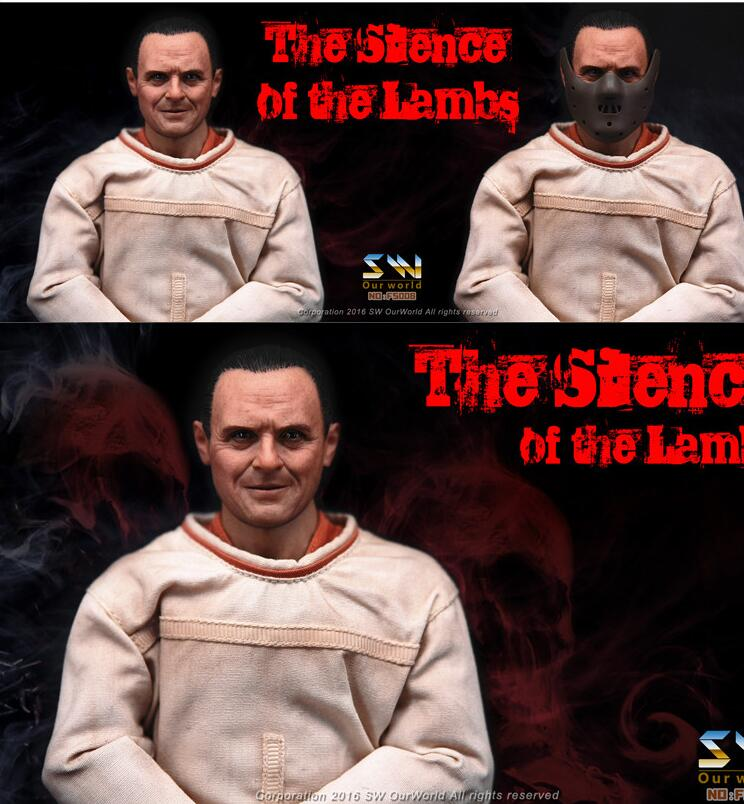 1//6 The Silence of The Lambs Dr Hannibal Figure Full Set 2.0 SHIP FROM USA