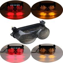 For Kawasaki ZX6R J1/J2 ZX 6R G1/G2 ZR7S 00-03 2000 2001 2002 2003 Motorcycle Accessories Tail Light LED Rear Turn Signals