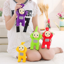 BSTAOFY Dropshipping 25CM Free Shipping Stuffed Dolls Teletubbies Vivid Dolls High Quality Hot Selling Plush Toys(China)