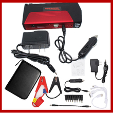 Whole sell Car Emergency jump starter auto vehicle engine booster start rechargeable battery power pack supply charger(China)